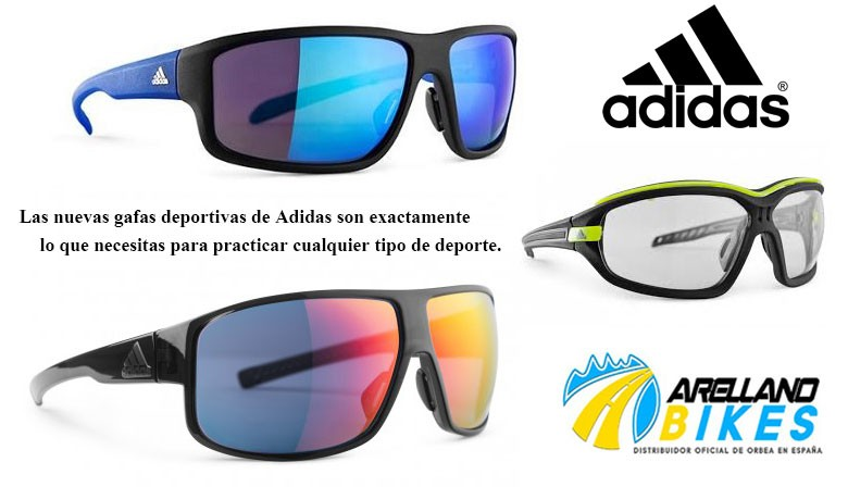 Descuento del -20% en gafas Adidas
