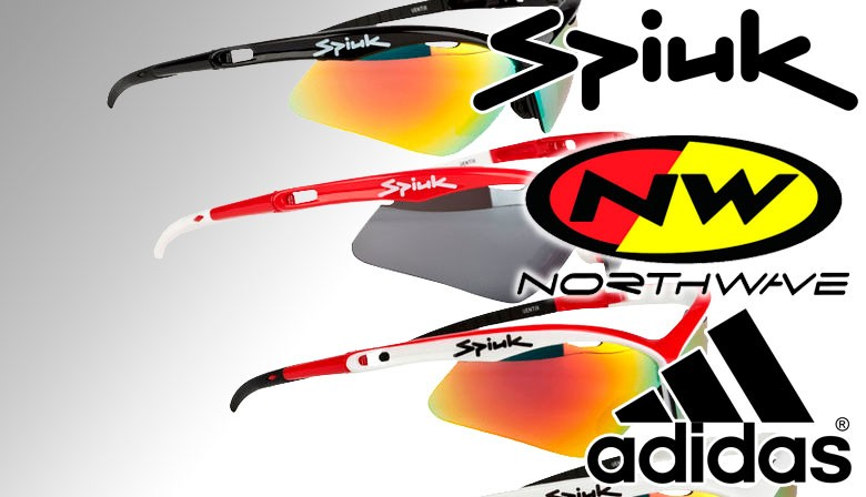 Descuento del -20% en gafas Adidas, NorthWave y Spiuk